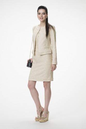Платье М-1323 р.44-52 Жакет М-1321  р.44-52