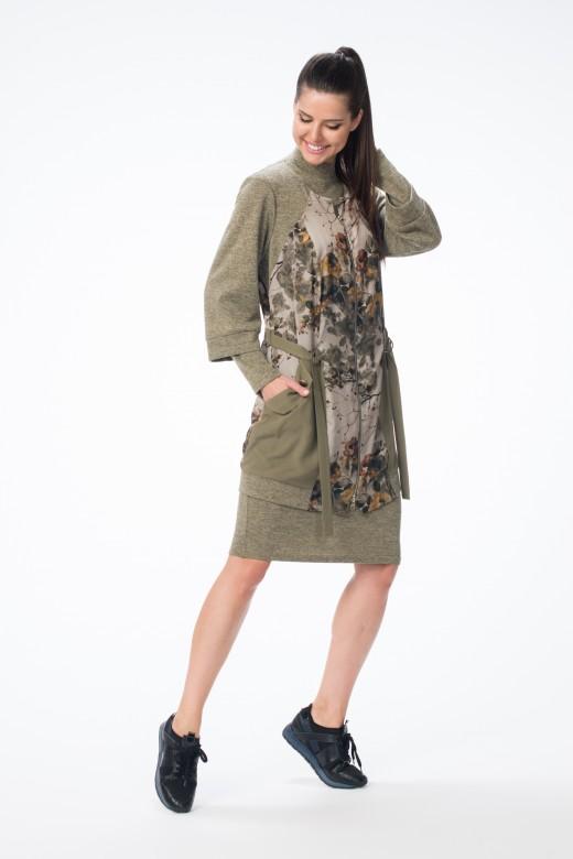 Кардиган М-1366 Платье М-1378