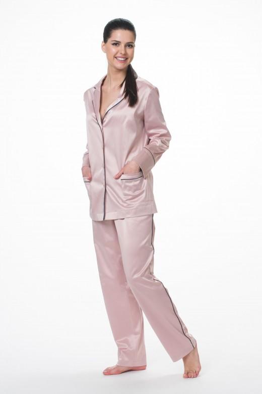 Пижама   М-1440  пудра