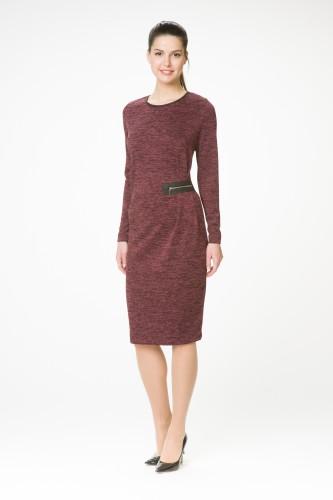Платье М-1369 бордо