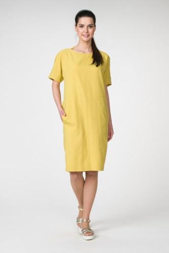 Платье М-1502 горч
