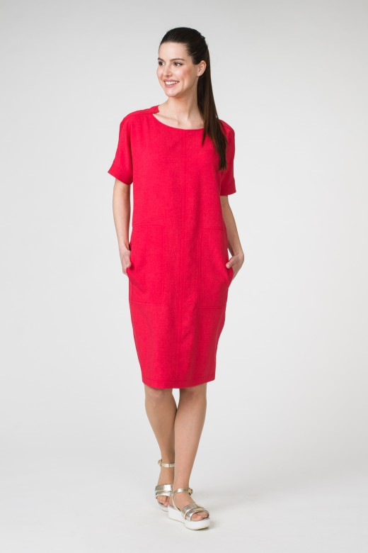 Платье М-1502 малина