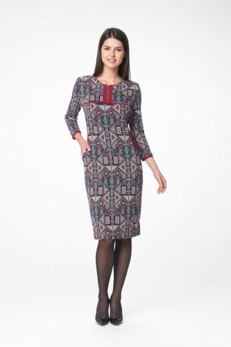 Платье М-1555 орнамент