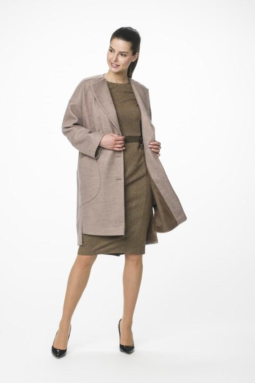 Пальто М-1540 платье М-1433