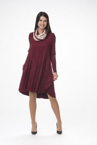 Платье М-1105 бордо