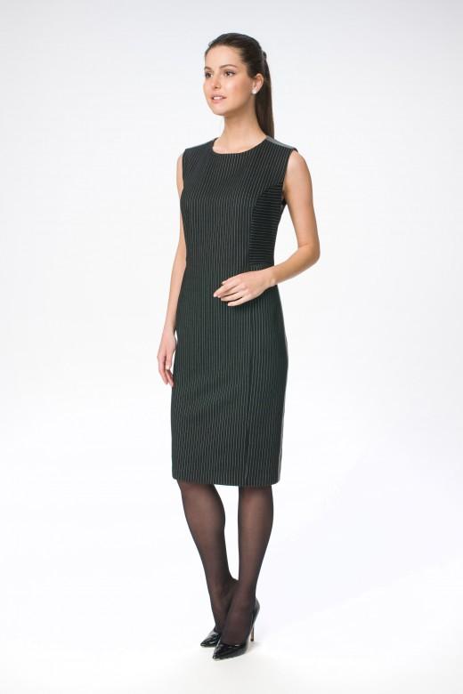 Платье М-1421  серая