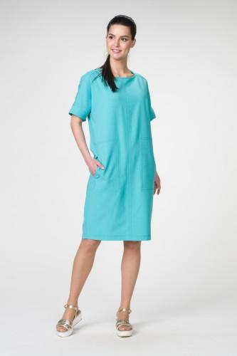 Платье М-1502 бирюза