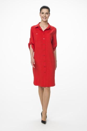 Платье М-1508 красный